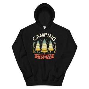 2021 Family Camping Trip Camper Matching Group Camping Crew Hoodie