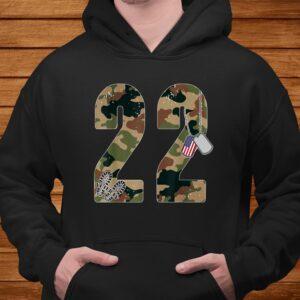 22 a day veteran shirt 22 too many ptsd awareness veterans t shirt Men 4