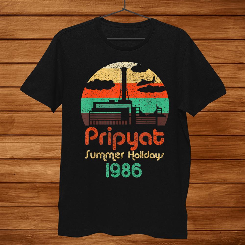 3.6 Roentgen Not Great Not Terrible Chernobyl Retro Pripyat Shirt
