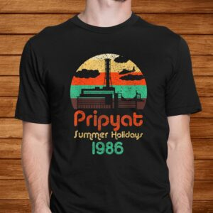 3.6 roentgen not great not terrible chernobyl retro pripyat t shirt Men 2