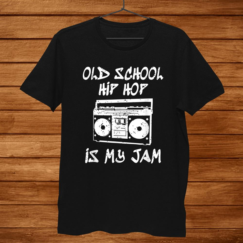 90s Hip Hop Old School Retro Boombox Music Lover Shirt