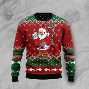 All I Want For Christmas Is A Big Fish Ugly Christmas Sweater