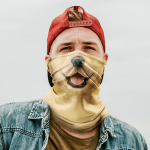 Animal Golden Retriever Neck Gaiter