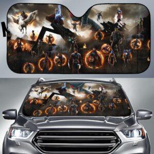 Avengers Assemble Car Sun Shade