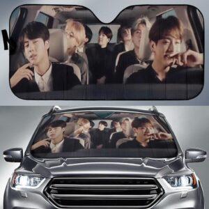BTS Car Sun Shade