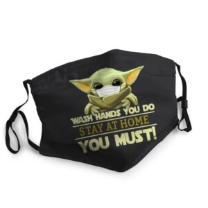 Baby Yoda Wash Hands You Do Stay At Home You Must Face Mask