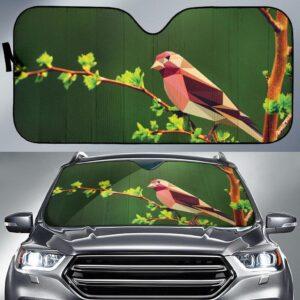 Bird Poly Car Sun Shade