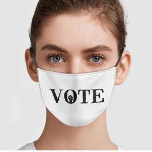 Black Lives Matter VOTE Face Mask