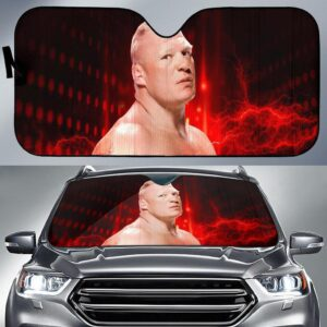 Brock Lesner Car Sun Shade