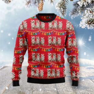 Cat Themed Kitten Ugly Christmas Sweater