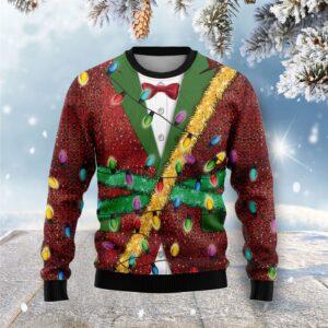 Christmas Light Ugly Christmas Sweater