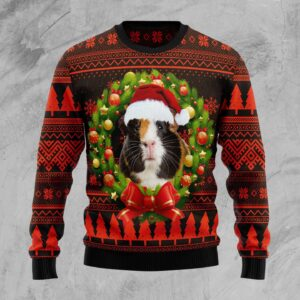 Cute Guinea Pig Ugly Christmas Sweater