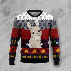 Cute Rabbit Ugly Christmas Sweater