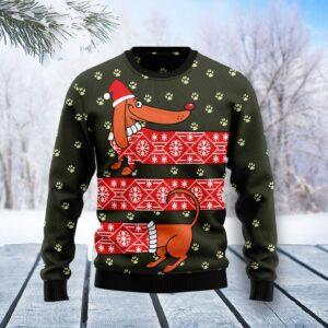 Dachshund Funny Christmas Ugly Christmas Sweater