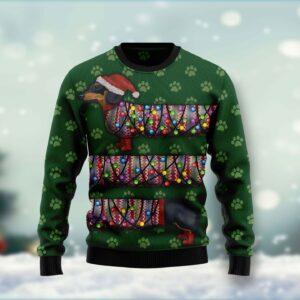 Dachshund Ugly Christmas Sweater