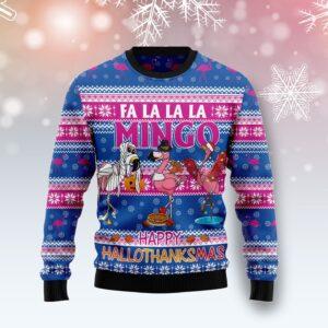 Fa La La La Mingo Ugly Christmas Sweater