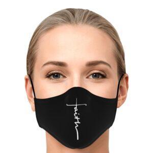 Faith Over Fear Focus On God Face Mask