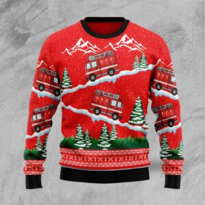 Firefighter  Ugly Christmas Sweater