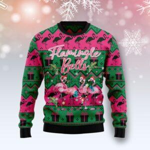 Flamingle Bells Ugly Christmas Sweater