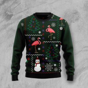 Flamingo Lover Ugly Christmas Sweater