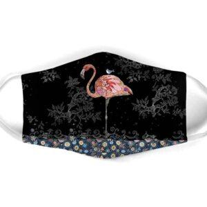 Flamingo Shadow Face Mask