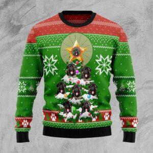 German Shepherd Pine Ugly Christmas Sweater