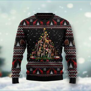 Giraffe Christmas Tree Ugly Christmas Sweater