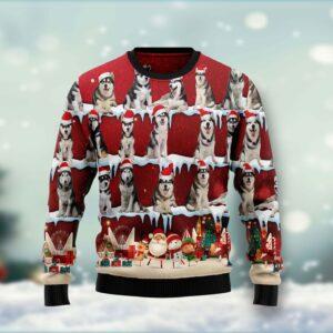 Golden Retriever HT Ugly Christmas Sweater