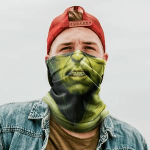 Green Skin Neck Gaiter