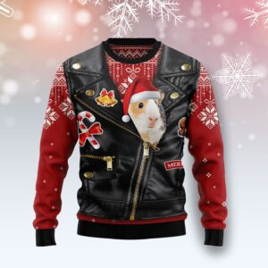 Guinea Pig Cute Face Ugly Christmas Sweater