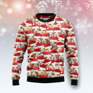 Guinea Pig Group Awesome Ugly Christmas Sweater