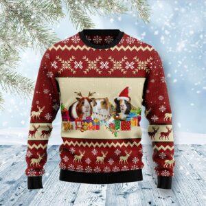 Guinea Pig Snow Ugly Christmas Sweater