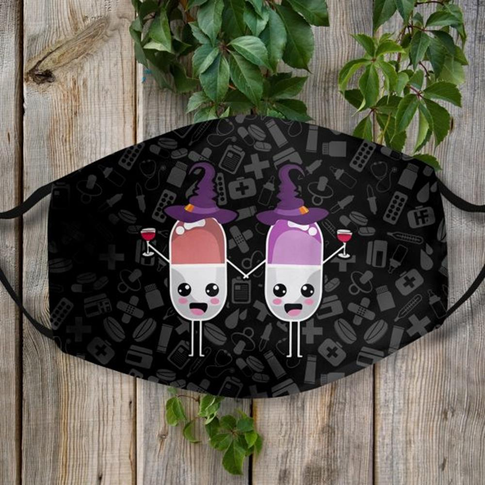Halloween Medicine Face Mask