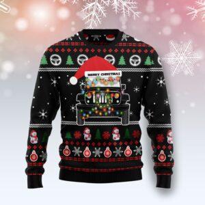 Jeep Merry Christmas Ugly Christmas Sweater