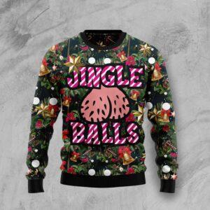 Jingle Balls Ugly Christmas Sweater