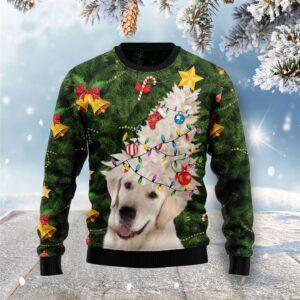 Labrador Retriever Noel Tree Ugly Christmas Sweater