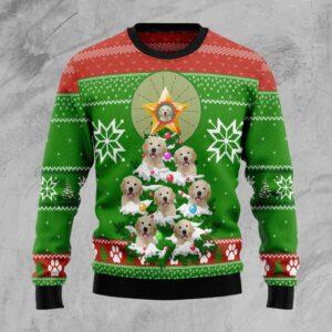 Labrador Retriever Pine Ugly Christmas Sweater