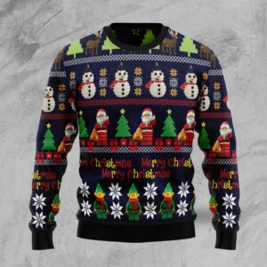 Lego Christmas Awesome Ugly Christmas Sweater