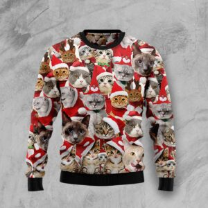 Lovely Cats Ugly Christmas Sweater