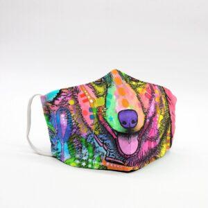 Lovely Corgi Art Face Mask