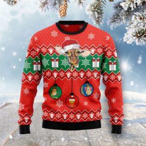 Lovely Giraffe Ugly Christmas Sweater
