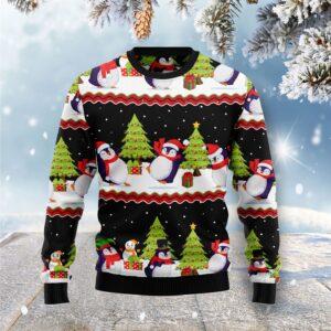 Lovely Penguin Ugly Christmas Sweater