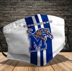 Memphis Tigers Face Mask