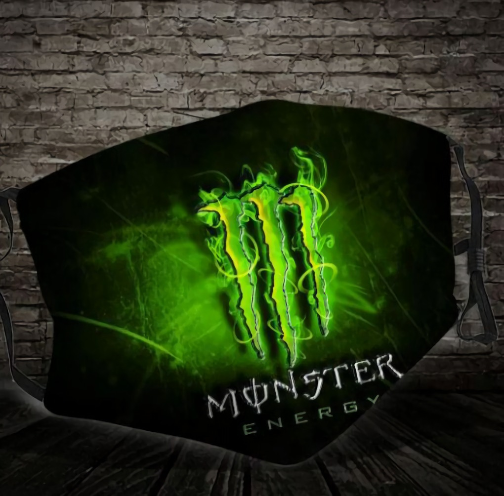 Monster Energy Cloth Face Mask
