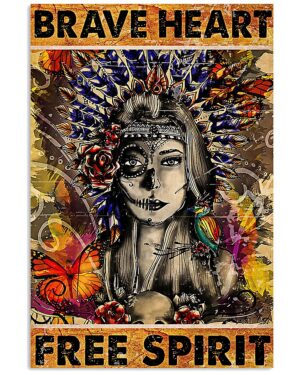 Native American Brave Heart Poster