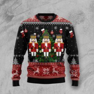 Nutcracker Christmas Tree Ugly Christmas Sweater