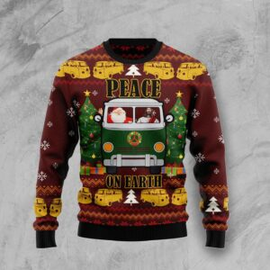 Peace On Earth Ugly Christmas Sweater