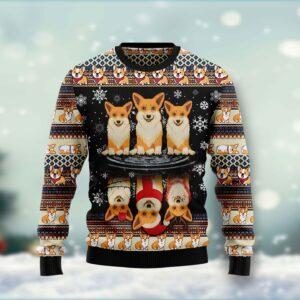 Pembroke Welsh Corgi Ugly Christmas Sweater