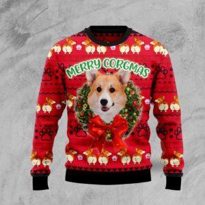 Pembroke Welsh Corgi Xmas Ugly Christmas Sweater