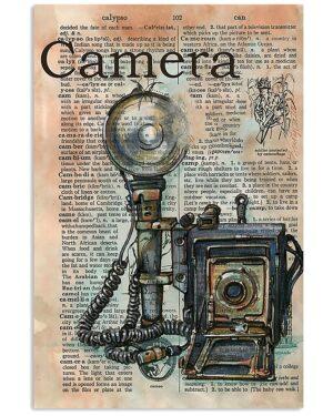 Photographer Camera Poster